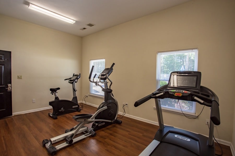 Luna Pointe Apartments Fitness Room